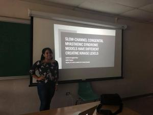 Ester and Lidiette excellent research presentations 2