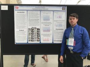 Benjamin at Experimental Biology 2018