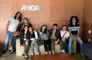 Boricuas en internado Amgen en California