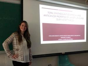 Ester and Lidiette excellent research presentations 1