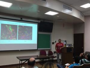 Jaime Santillán PhD candidate research seminar 3