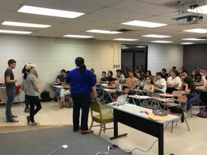 Rutgers recruitment seminar Evelyn Erenrich and Patricia Irizarry 2