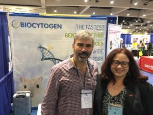 ex-estudiantes de MARC, Amalia Ávila Figueroa PhD, actualmente después de se hacer su postdoc, esta trabajando en Biocytogen Animal model services.